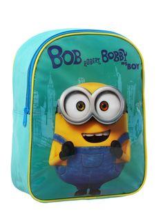 Mochila Minions™: Esta mochila tiene licencia oficialMinions™.Es de tejido verde con cremallera y dos tirantes que se pueden…