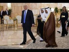 President Donald Trump Welcome Ceremony in Saudi Arabia at Al Yamamh Palace #2 - YouTube