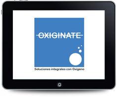 Diseño del logotipo para OXIGINATE.