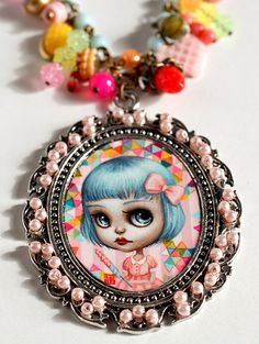 Candy Girl - - original cameo by Mab Graves by mab graves, via Flickr