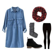 How To Wear Denim Dress Fall Chambray Shirts 23 Ideas For 2019 Winter Dress Outfits, Casual Dress Outfits, Trendy Dresses, Cute Outfits, Trendy Outfits, Dress Winter, Fall Dresses, Work Outfits, Fashion Outfits