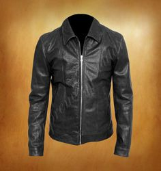 Californication Hank Moody David Duchovny Leather Jacket