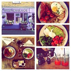 Chill in Notthing Hill - Brunch & bloody Mary at Wildflower Cafe, London
