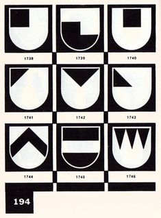 The shield and its variants.