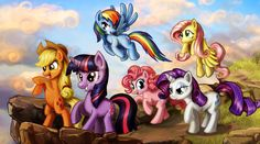 Onward Ponies by harwicks-art.deviantart.com on @deviantART