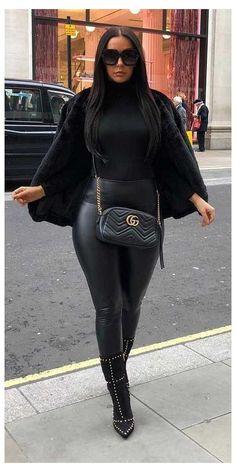Black Women Fashion, Look Fashion, Girl Fashion, Womens Fashion, Fashion Night, Black Women Style, Mommy Fashion, Fashion Shoes, Fashion Jewelry
