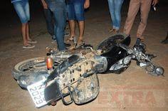 R12 Noticias : Motociclista tem perna dilacerada após colidir com...