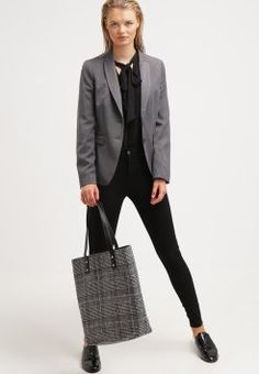Even&Odd - Shopping Bag - black/white
