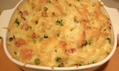 Bacon and leek macaroni cheese - Kidspot