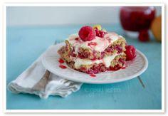 Raspberry Lemonade Cake Recipe [THM E] - Gwen's Nest