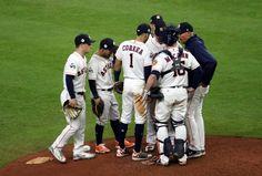 Baseball: LA break Houston's home spell, even World Series