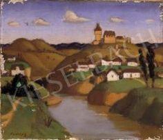 Fényes Adolf - Dombos mesetáj, háttérben várral Painting, Art, Art Background, Painting Art, Kunst, Paintings, Performing Arts, Painted Canvas, Drawings
