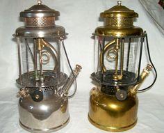 old Coleman Gas Lantern