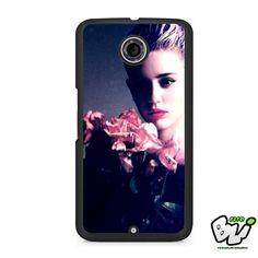 Miley Cyrus Pink Flower Rose Nexus 6