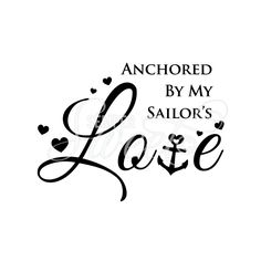 Navy wife decal by Semper Sweet!