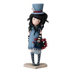 Gorjuss The Hatter Figurine Santoro London Collection A27416 #GorjussTheHatterFigurine #SantoroLondon #FineGiftsNottingham