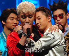 BIGBANG スンリ&テヤン (7日、Mカウントダウン)