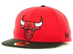 41b6f58b7e86d Chicago Bulls New Era NBA 2013 Current Logo Fitted 59FIFTY Cap