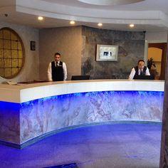 Elitte otel resepsion banko ve duvar kaplama www.nominalstone.com buradan ulaşa bilirsiniz