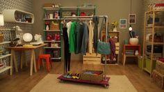 Falta espaço para o armário? Veja como criar uma linda arara de roupas usando canos - Casa - GNT