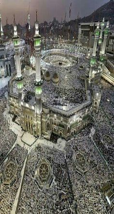 Masha'allah A breathtaking view of Mecca Masjid Haram, Mecca Masjid, Islamic Images, Islamic Pictures, Mecca Images, Medina Mosque, Mecca Wallpaper, Beautiful Landscape Wallpaper, Scenery Pictures