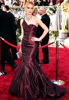 The Most Breathtaking Oscars Gowns - Keira Knightley, 2006 from #InStyle