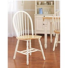 Amazon.com: Winsome Wood Windsor Chair, Natural, Set Of 2: Home U0026 Kitchen |  For The Home | Pinterest | Winsome Wood, Windsor F.C. And Woods