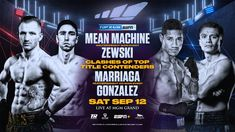 "LAS VEGAS (September 12, 2020) — Three former world title challengers and a longtime contender met the media for a Zoom press conference Thursday afternoon ahead of their can't-miss doubleheader Saturday from the MGM Grand Conference Center (ESPN+, 7:30 p.m. ET ). In the 10-round welterweight main event, the man known as ""Mean Machine,"" Egidijus Kavaliauskas, will take on […] The post Mean Machine-Zewski and Marriaga-Gonzalez ESPN Plus Weigh-in Video & Presser Quotes"