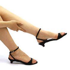 Sandals 142 White Enamel Handmade Ankle Strap Sandals, Mode Island ...