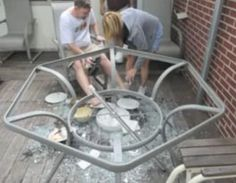 Martha Stewart Patio Tables are Apparently Exploding Everywherebroken glass patio tables   Glass Replacement Table Tops  . Martha Stewart Patio Furniture Replacement Glass. Home Design Ideas