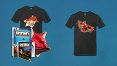 Epistory e-shop! T-shirts, papermasks and more :)