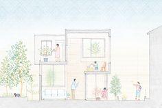House in Chayagasaka / Tetsuo Kondo Architects