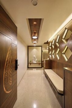 home entrance lobby design ideas - Internal Home Design Home Interior Design, Best Interior, House Design, Corridor Design, Lobby Interior Design, Foyer Design, Ceiling Design, Door Design, Interior Decorating
