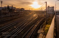 Popular on 500px : The railway to the sun by rrrrrrraph