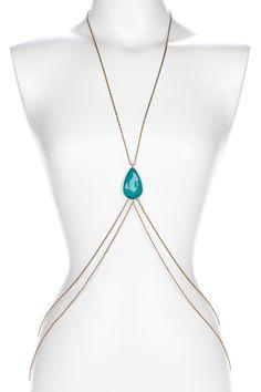 Dakota Body Chain by Thyia Jewelry.