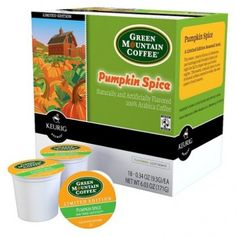 Make your own pumpkin spice latte at home with these Green Mountain Coffee Pumpkin Spice K-Cups ($16)!