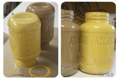 Painted Mason Jars ... search mason jars for tons more ideas