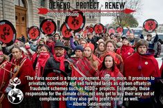 #ParisAgreement 2015 #ParisClimiateConference http://indigenousrising.org/indigenous-peoples-take-lead-at-d12-day-of-action-in-paris-official-response-to-cop21-agreement/