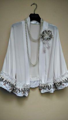 Kimono impreziosito giacca Summer Cover up di HandmadebyNadya