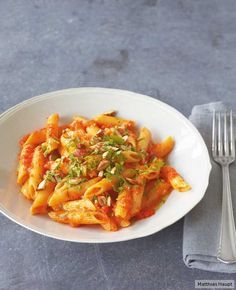 Peppers and pasta Vegetarian Cooking, Vegetarian Recipes, Bread Display, Penne, Vegan Dinners, Gnocchi, Diy Food, I Love Food, Noodles