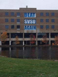 Battle of the Valleys, part 2. Go Lakers! Photo from @Grand Valley State University Lakers #gvsu