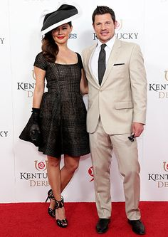 While the world celebrated the Princess of Cambridge's birth, Nick and Vanessa Lachey were looking like the perfect couple at the 141st Kentucky Derby at Churchill Downs in Louisville, Kentucky, on Saturday, May 2, 2015.