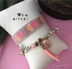 Pink Love ♥️♥️♥️♥️ _____________________________ Bilgi ve sipariş için Dmulaşabilirsiniz ✨✨ #miyuki #trend #jewelry #moda #design #handmade #love #heart #kombin #bileklik #bracelet #taki #accessories #fashion #style #aksesuar #like4like #tasarim #instalove #instalike #peyote #beads #art #instagood #bayan #instagram #pink #tarz