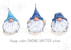 Stamping Bella Cling Stamps-Gnomes Have Feelings Too Christmas Gnome, Christmas Art, Christmas Decorations, Christmas Ornaments, Gnome Paint, Christmas Drawing, Theme Noel, Watercolor Cards, Painted Rocks