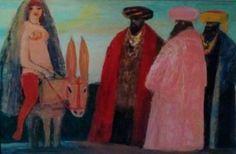 Attualmente nelle aste di #Catawiki: Salvatore Fiume - La preferita del sultano su di un somarello