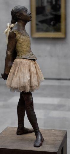 Little Ballerina (1881)  ~ Edgar Degas