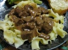 Kalops (Swedish Braised Beef & Brown Sauce) Recipe- Recipes  Kalops is an authentic Swedish dish made with cubed beef braised in a flavorful brown sauce with onions and carrots. This is my mother's variation, received from a friend raised in Sweden. Deceptively easy, this will become a family favorite after one bite.
