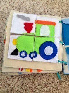 Marci's Quiet Book - Puzzle Page