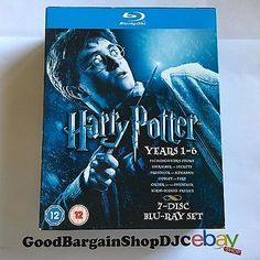 #Harry potter collection - years 1-6 #(blu-ray, 2009, #7-disc set, box set),  View more on the LINK: http://www.zeppy.io/product/gb/2/222376972321/