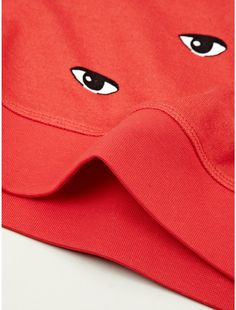 KENZO | Mens Red Eye Print Sweatshirt for Men | Lyst